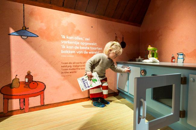 Ik ben Kikker in het Kinderboekenmuseum