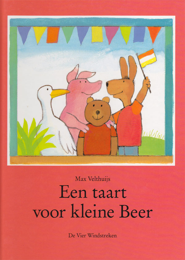kleine beer is jarig Een taart voor kleine Beer   Stichting Max Velthuijs kleine beer is jarig