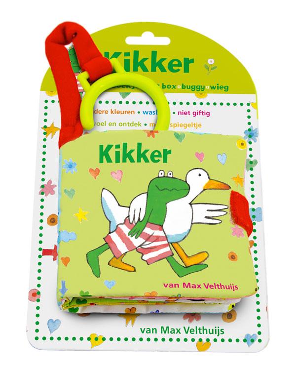 Kikker babyspeelboekje