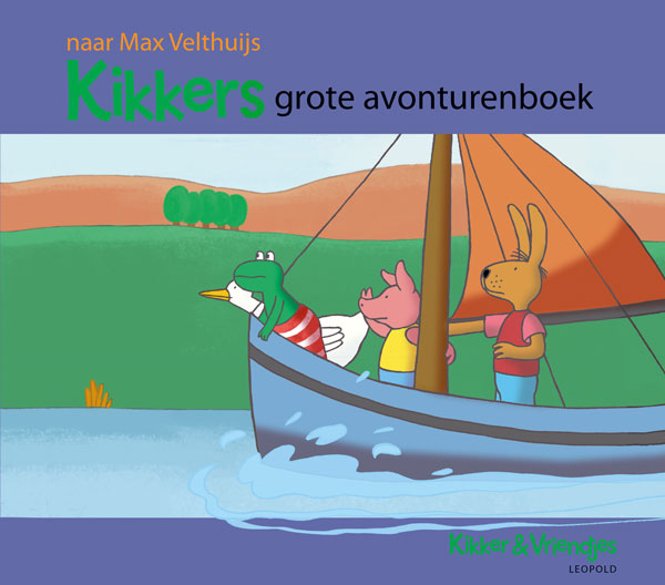 Kikkers grote avonturenboek